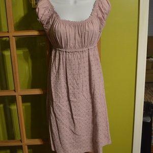 mauve dress, medium, Max Studio